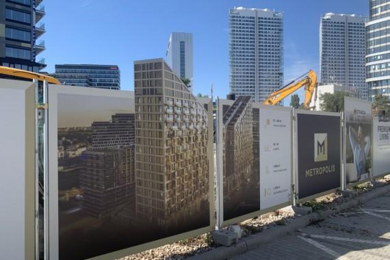 METROPOLIS pokračuje vo výstavbe realizáciou spodnej stavby