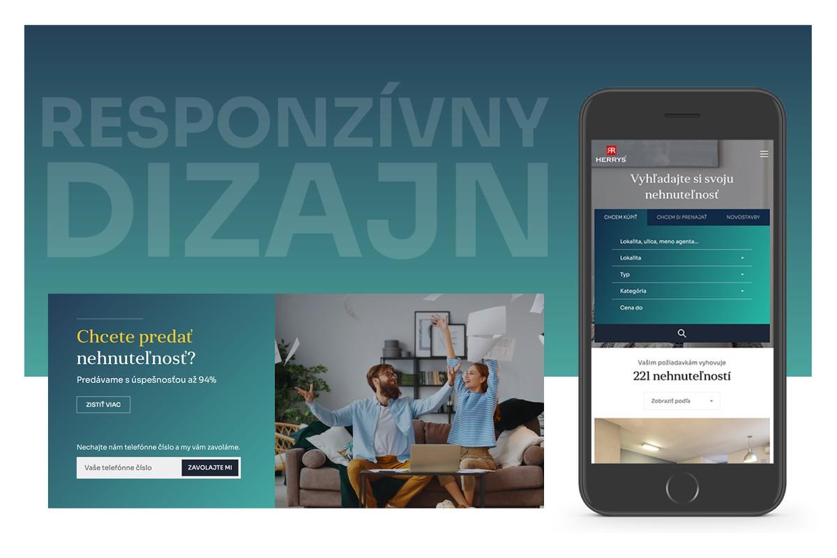 Herrys uvádza redizajn svojej webstránky. Nová herrys.sk má pútavejšie užívateľské prostredie