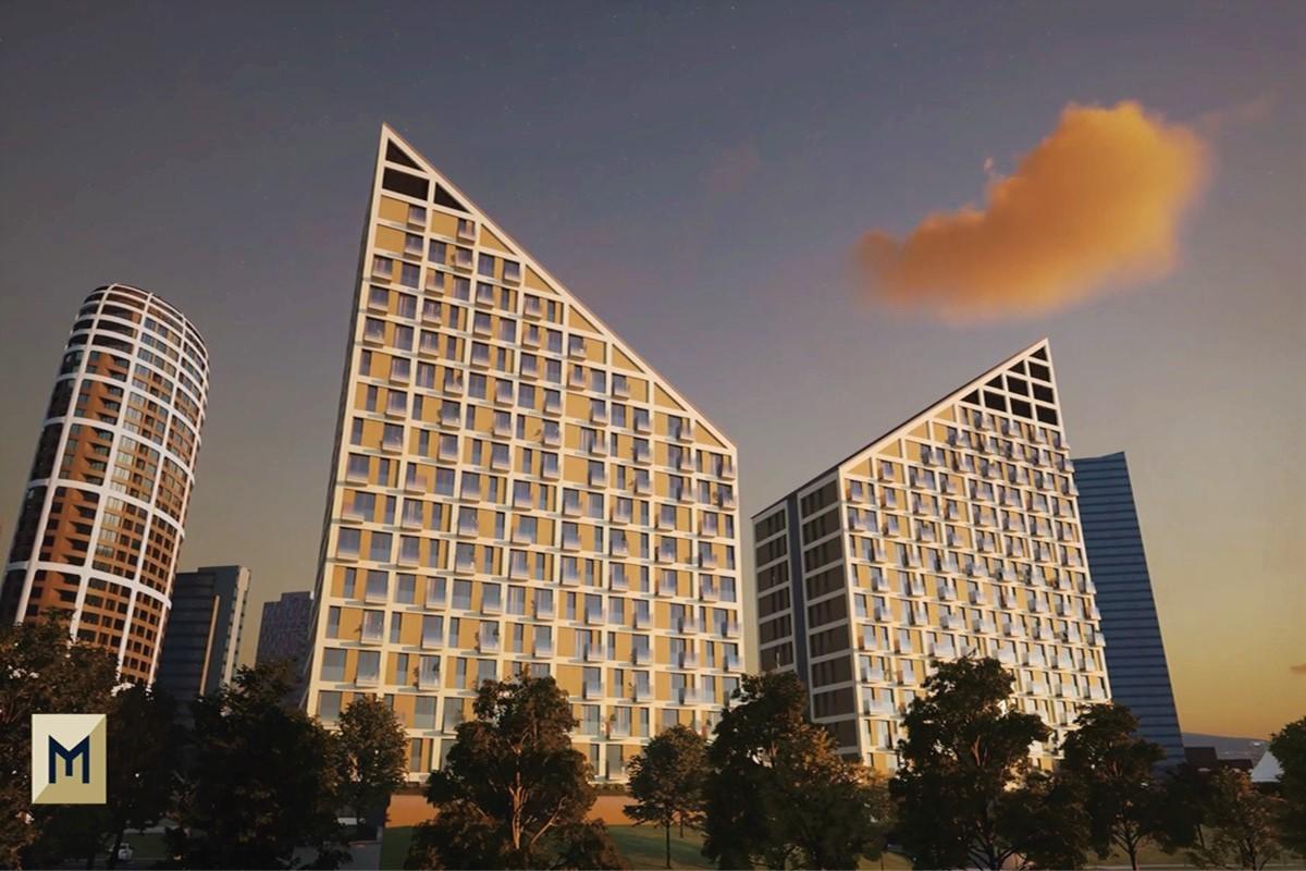 METROPOLIS bude postavený podľa japonského know-how.  Generálnym dodávateľom stavby je Takenaka