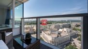 HERRYS - Na predaj jedinečný 2 izbový byt v nadštandarde s unikátnym a nerušeným výhľadom na celé mesto v projekte Panorama City