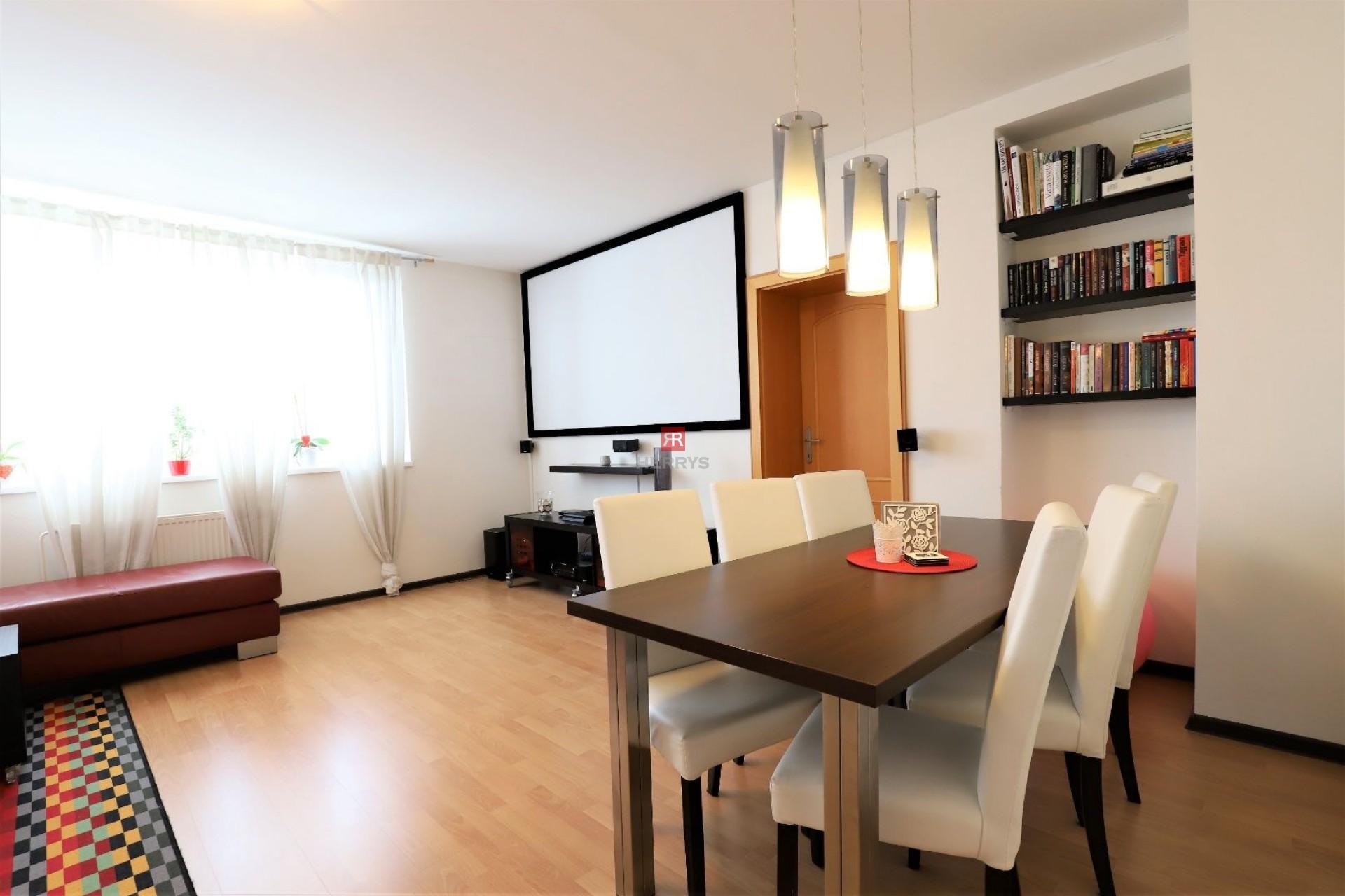 HERRYS - Na prenájom kompletne zariadený 3 izbový byt na Lipovej ulici v blízkosti River Parku v Starom Meste, garáž