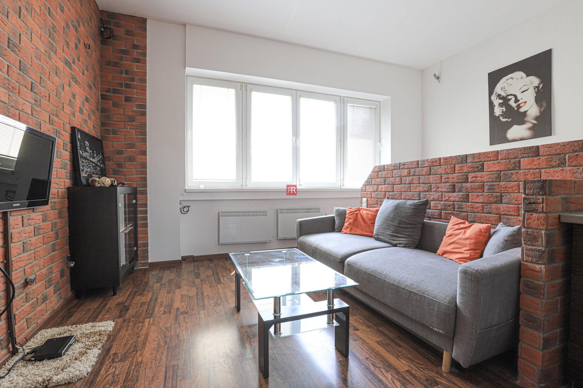 HERRYS - Na prenájom príjemný kompletne zariadený 1 izbový byt s krásnym výhľadom na Dunaj pod Bratislavským hradom