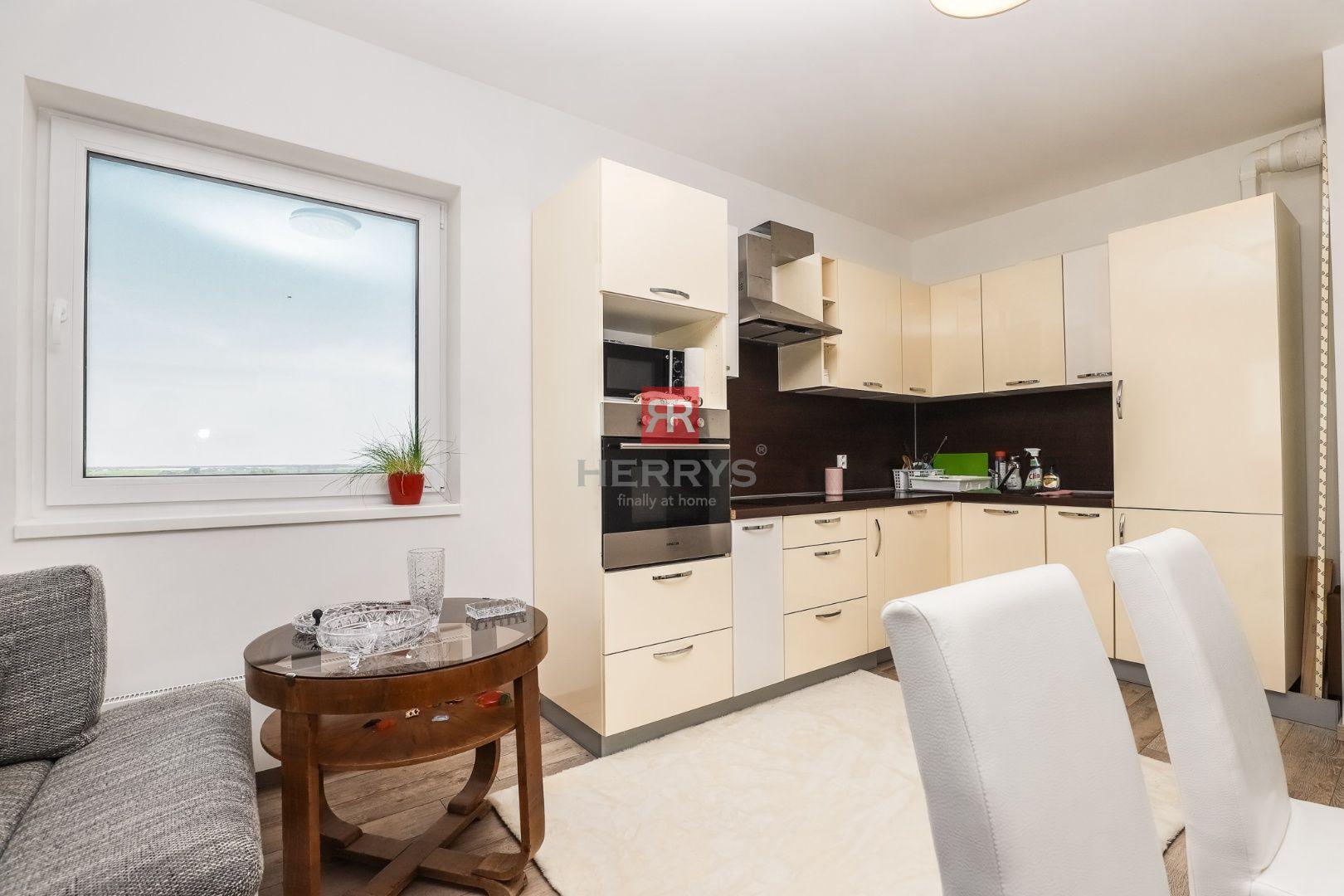 HERRYS - Na prenájom 3 izbový byt s lodžiou a parkovacím státím v novostavbe Bory Home