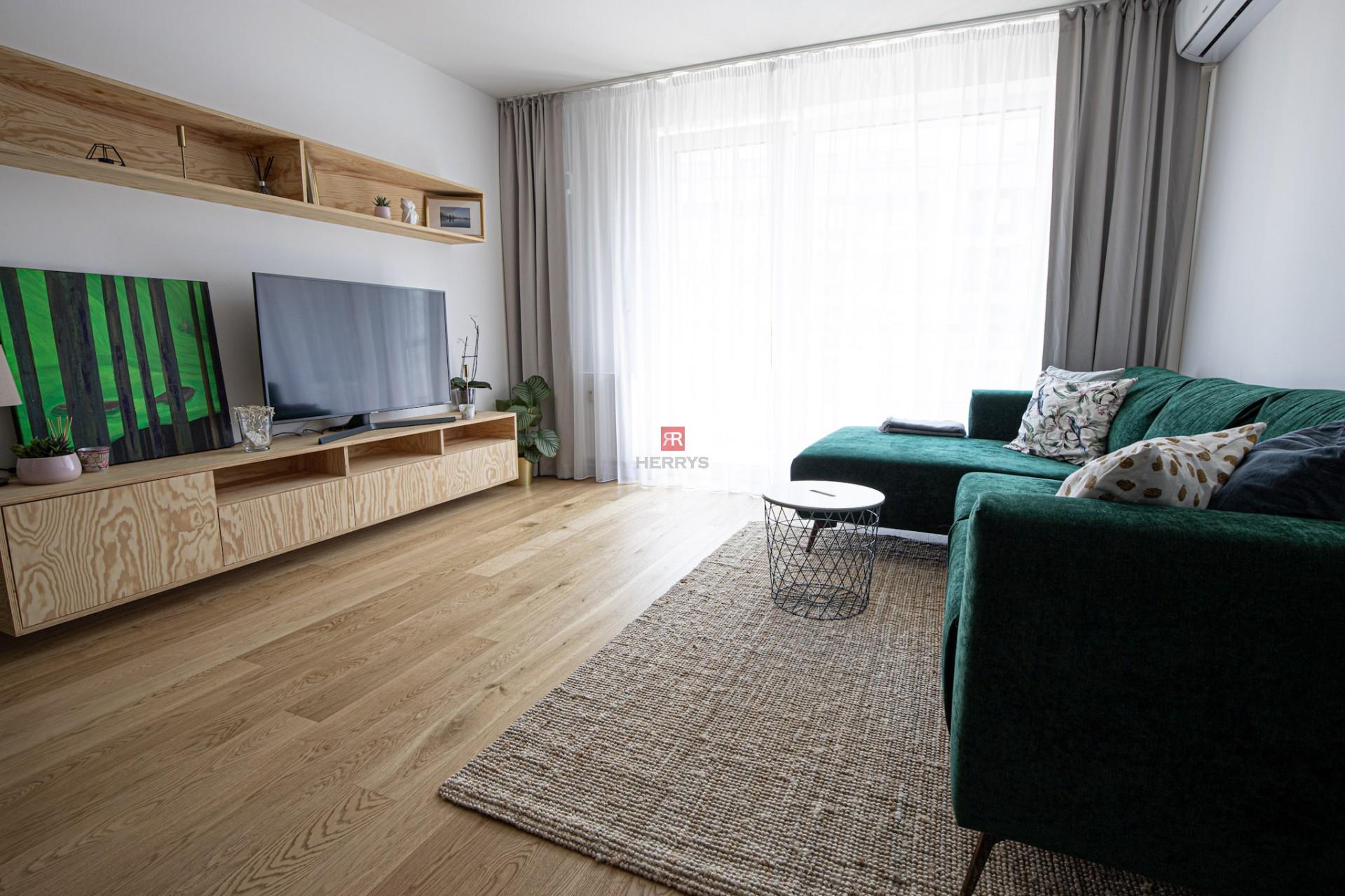 HERRYS - Na prenájom luxusne zariadený 2 izbový byt v novostavbe Urban Residence