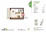 Na predaj - 1,5 -izbový byt pod úpätím Karpát v rezidenčnej novostavbe Pod Vinicou