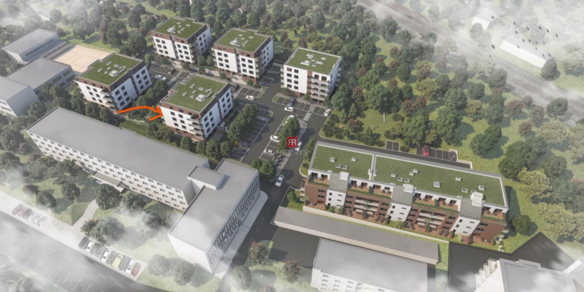 Na predaj - 1,5 izbový byt v krásnom prostredí Karpát v rezidenčnej novostavbe Pod Vinicou