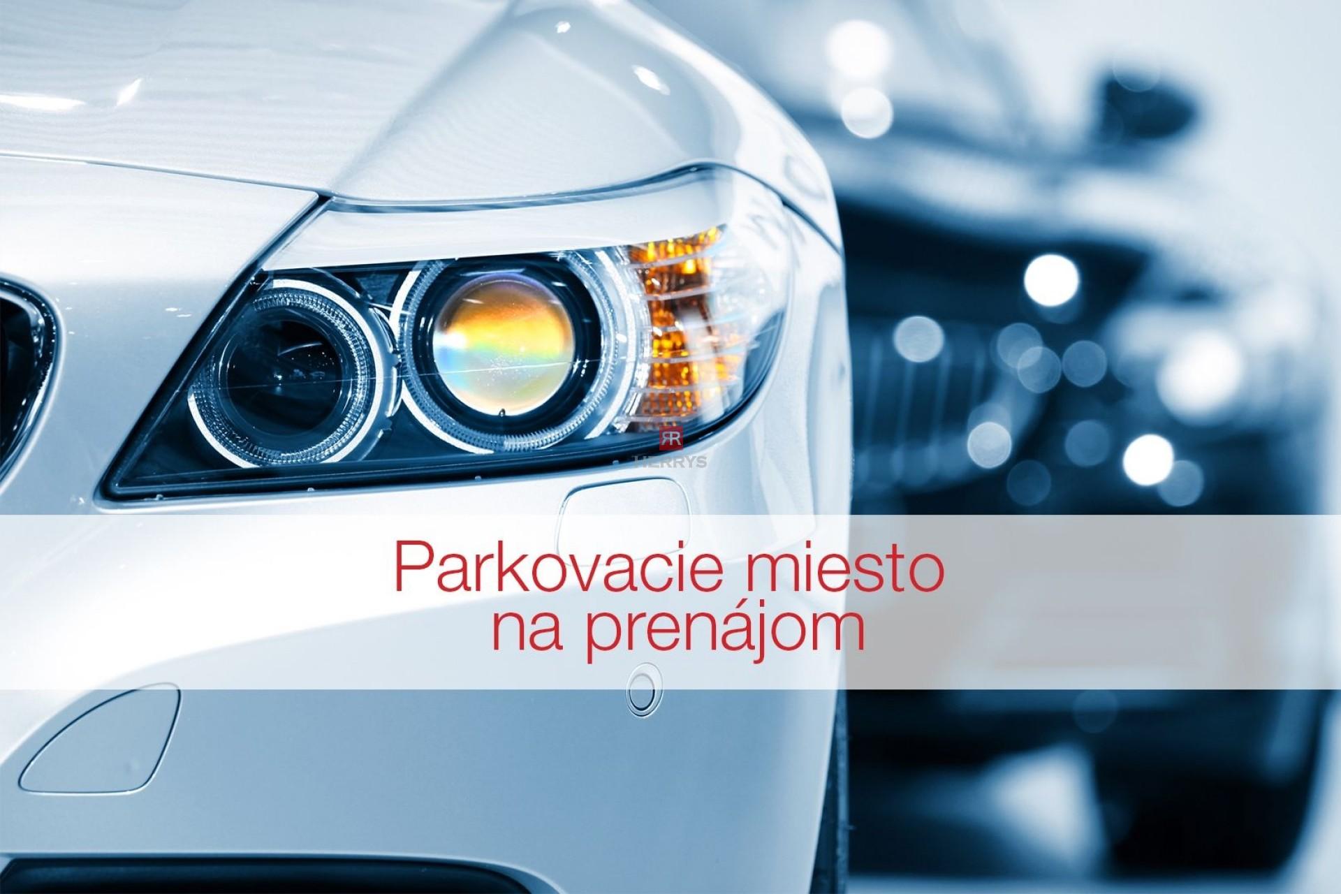 HERRYS, Na prenájom veľké parkovacie miesto aj so skladovým priestorom v projekte City Park v Ružinove