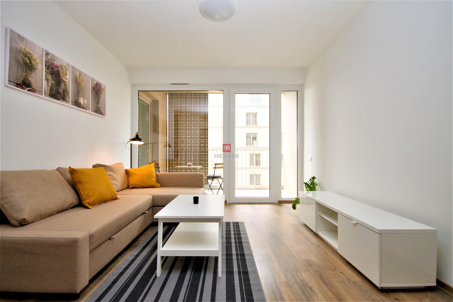 HERRYS - Na prenájom slnečný klimatizovaný 2 izbový byt v rezidencii Pri Mýte