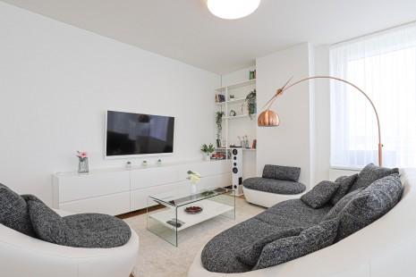 HERRYS - Na prenájom moderného a zariadeného 3 izbového bytu na 27p. s pekným výhľadom v projekte Panorama City