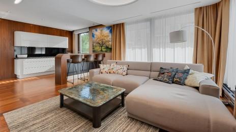 HERRYS - Na predaj luxusný 2 izbový byt s terasou vuzavretom areáli novostavby Mestské Vily pri Horskom Parku