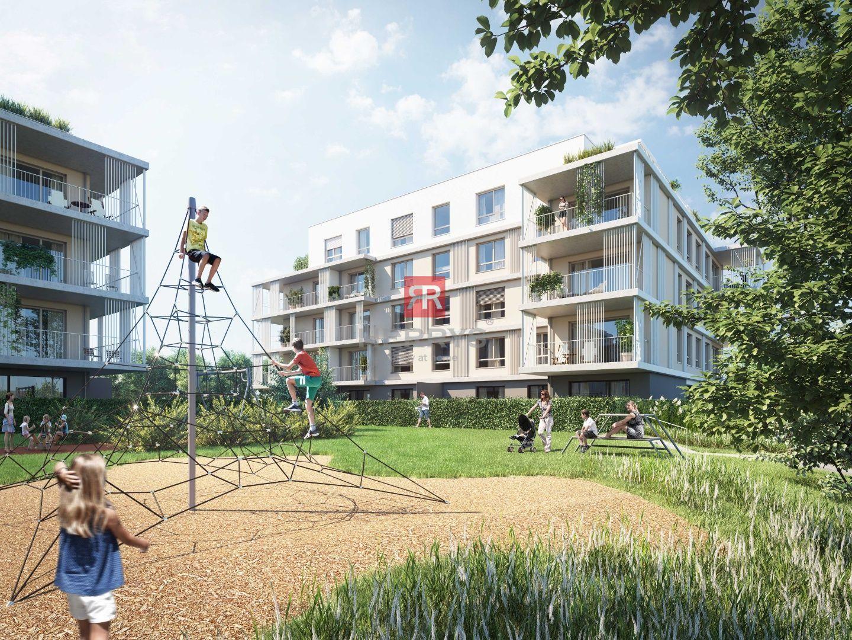 HERRYS - Na predaj 1,5 izbový apartmán s terasou a predzáhradkou v projekte Nový Ružinov