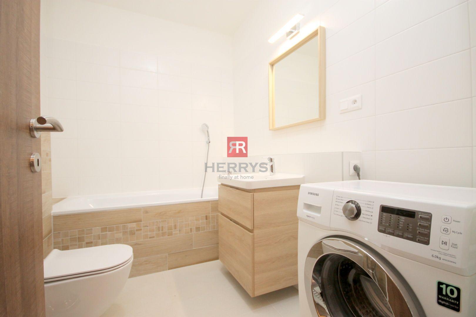 HERRYS - Prenájom – slnečný 2 izbový klimatizovaný byt vrátane parkovacieho miesta v projekte NUPPU